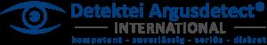 Argusdetect International Wort BIldmarke